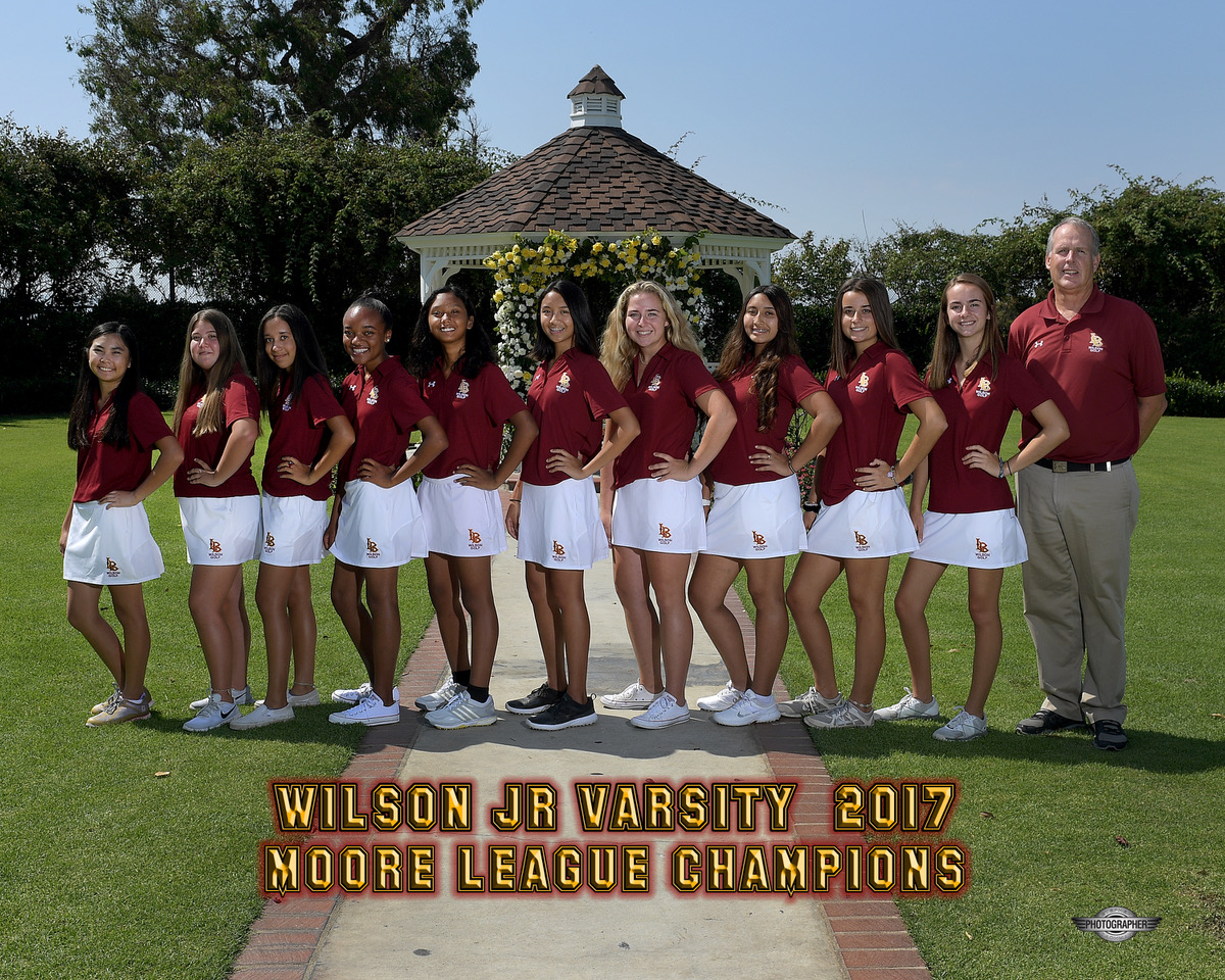 2017 JV Moore League Champions