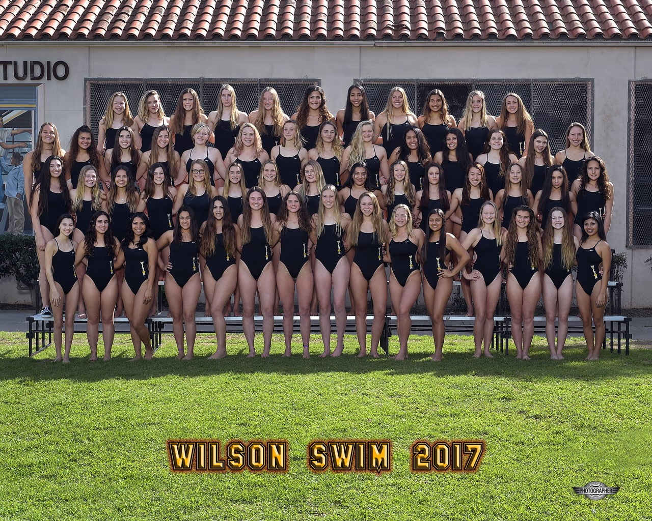 2017 Wilson Girls Swimming Team