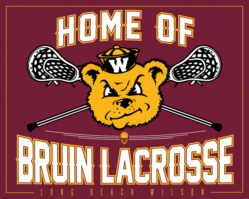 check out our new bruin lacrosse banner