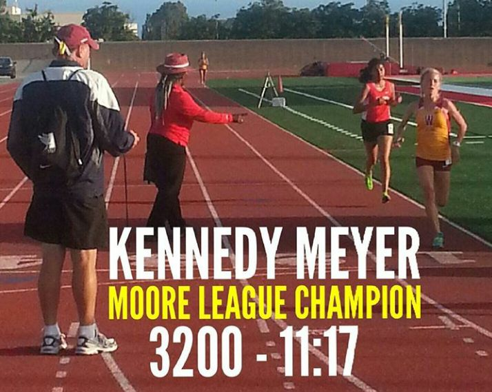 Kennedy Meyer - 3200m Moore League Champion