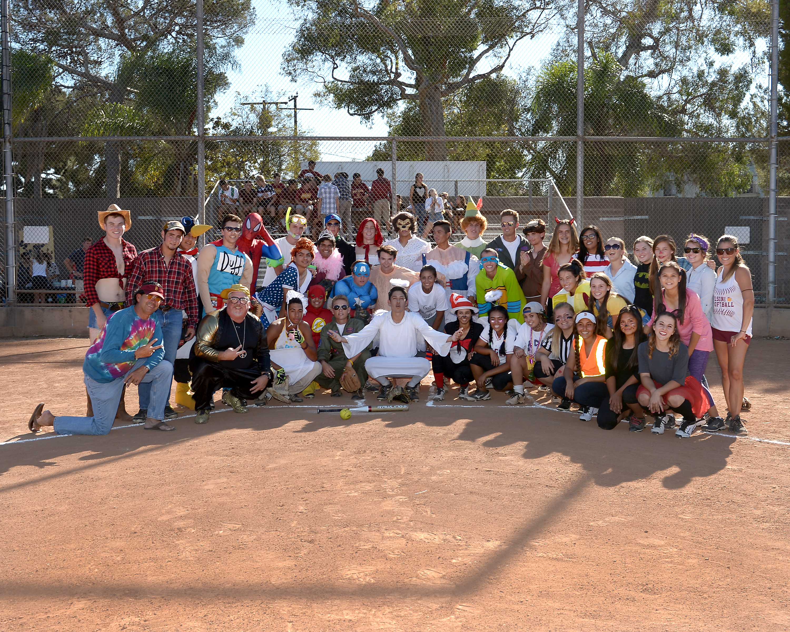 1st Annual Wilson Softball vs Baseball Game