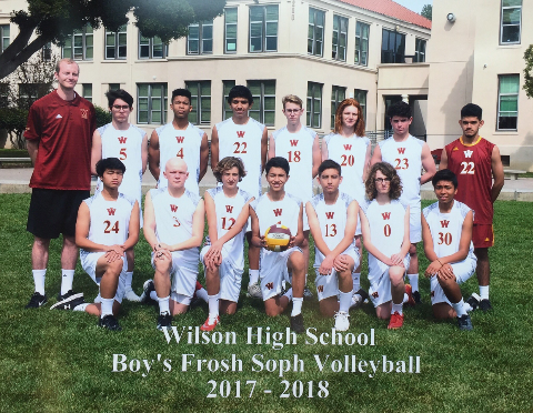 2017 frosh soph team photo