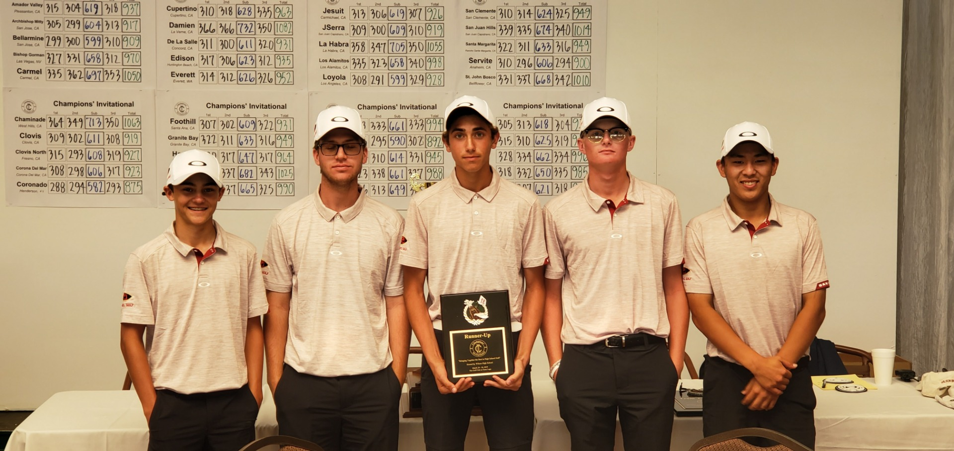 2019 2nd Place Team - Palm Desert