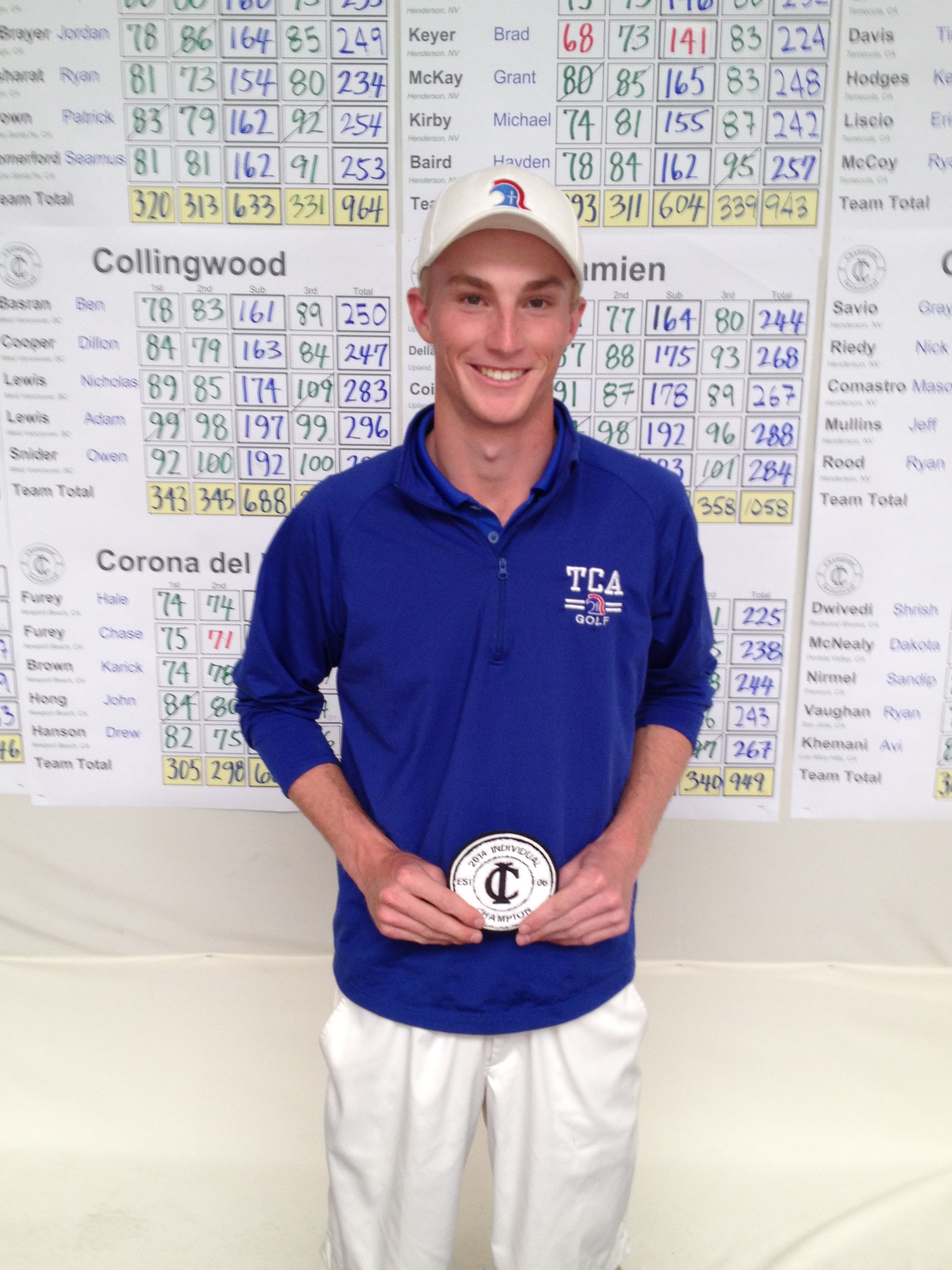 2014 Individual Medalist - Will Zalatoris