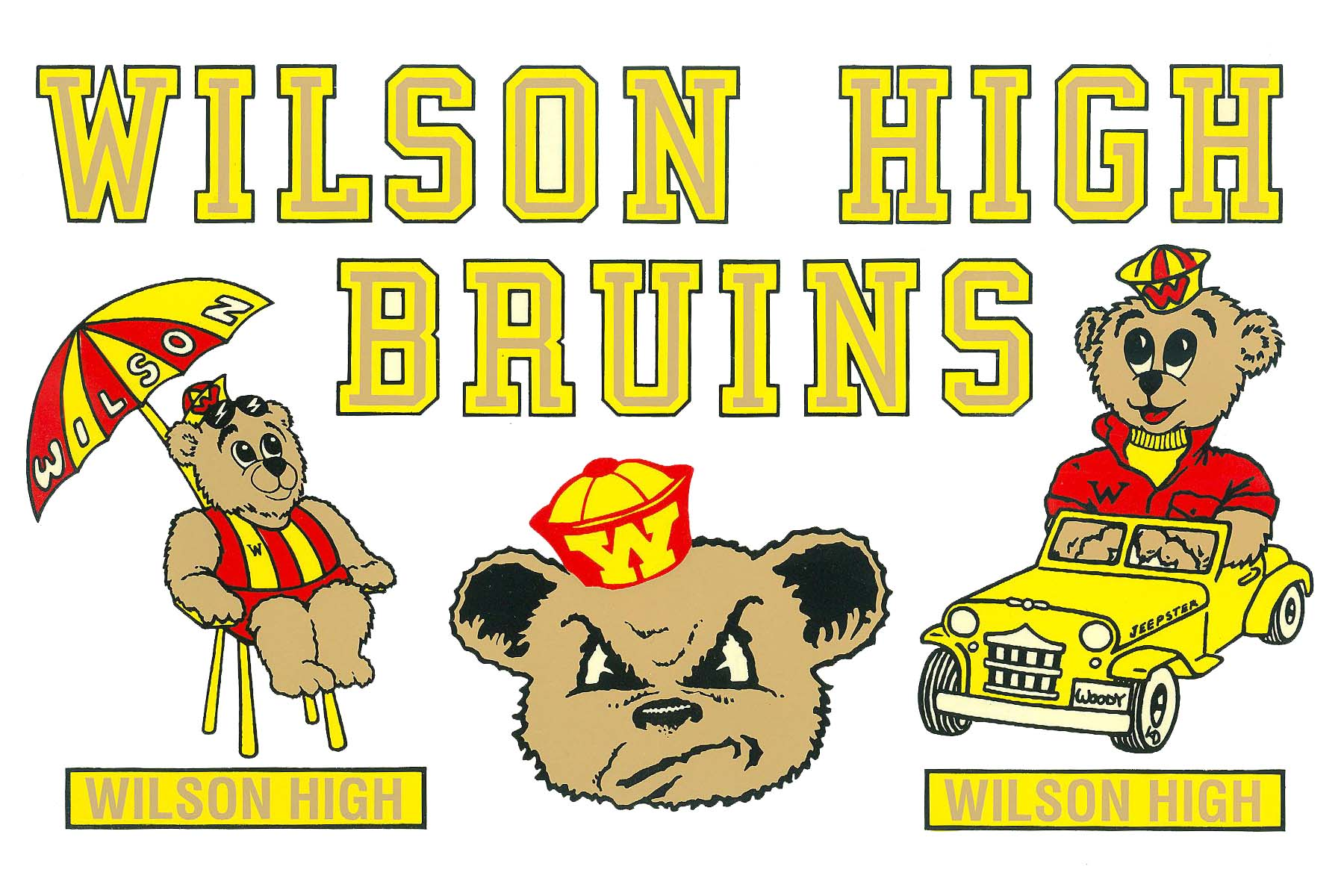 classic wilson high bruins images