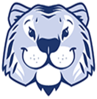 Tiger head logo: Laurelwood's school mascot
