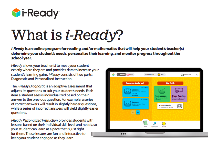 iReady Family Guide