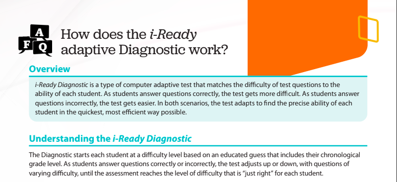 iready diagnostic guide