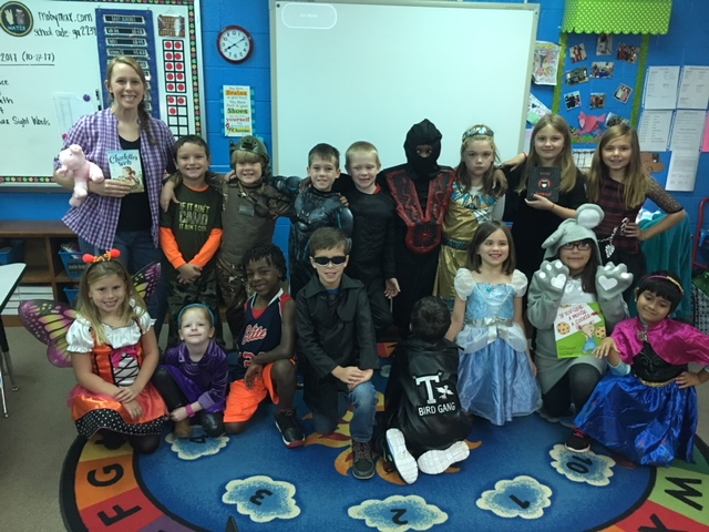 Character Dress Up day