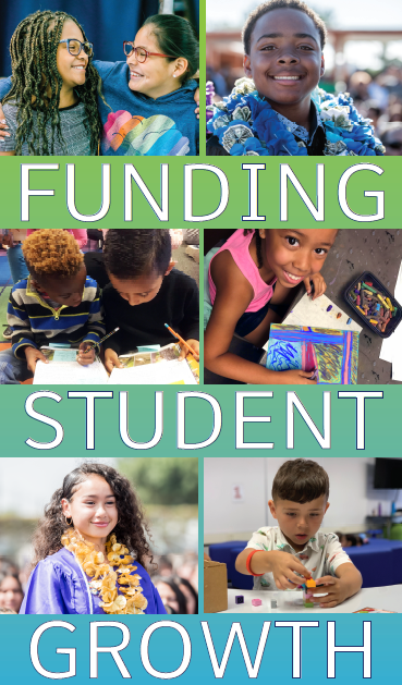 Funding Student Growth Banner