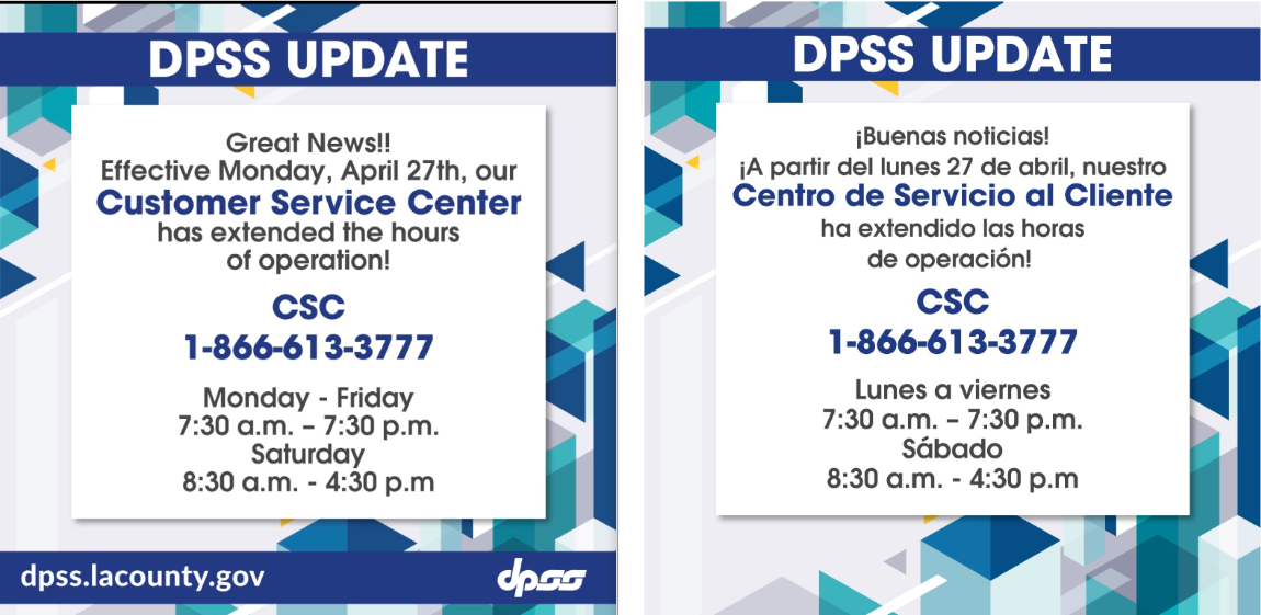 LAC DPSS Update