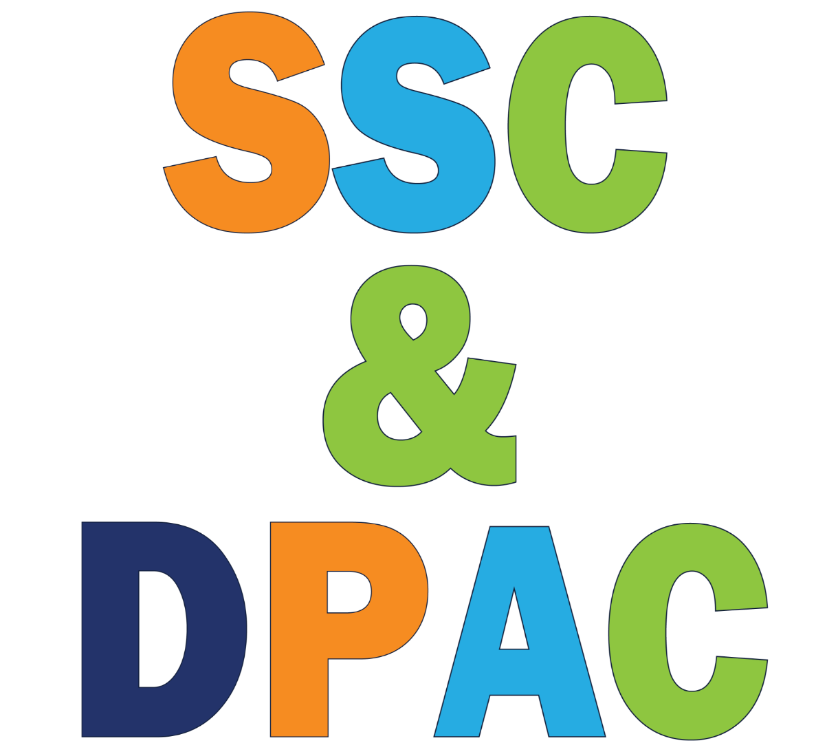 SSC and DPAC logo