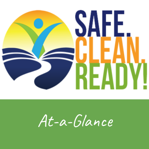 Safe clean ready at a glance guide