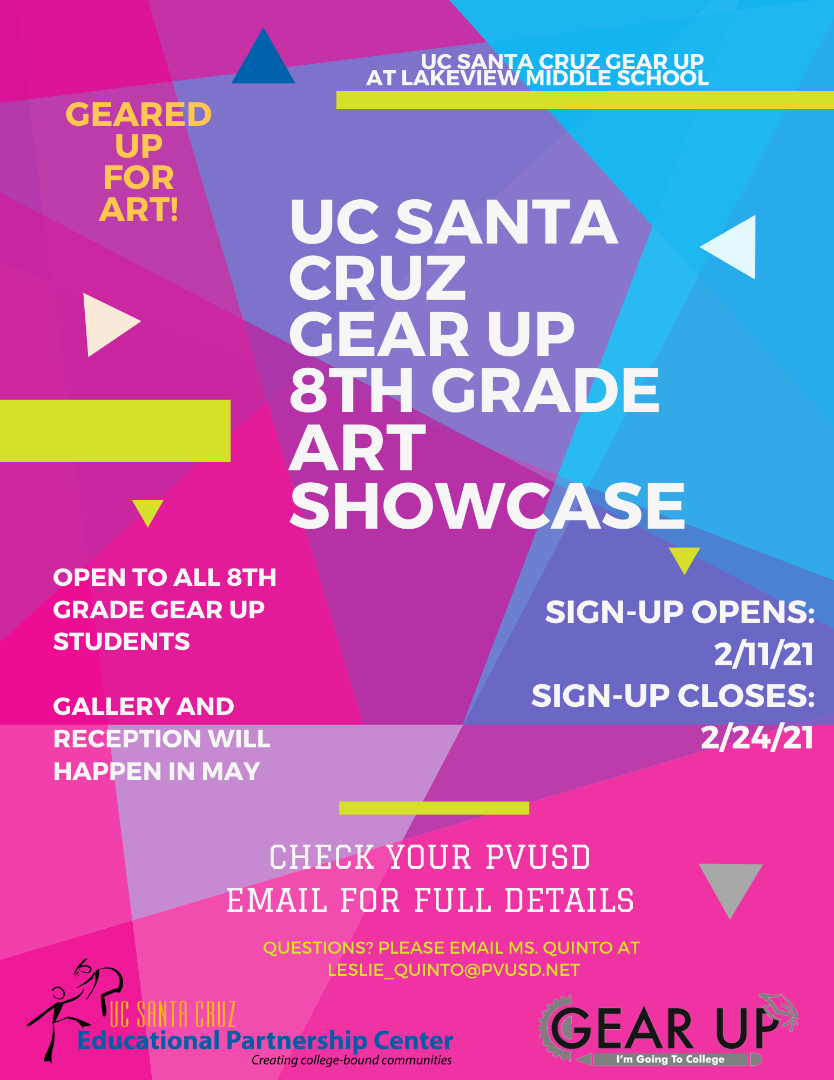 UCSC Gear UP flyer