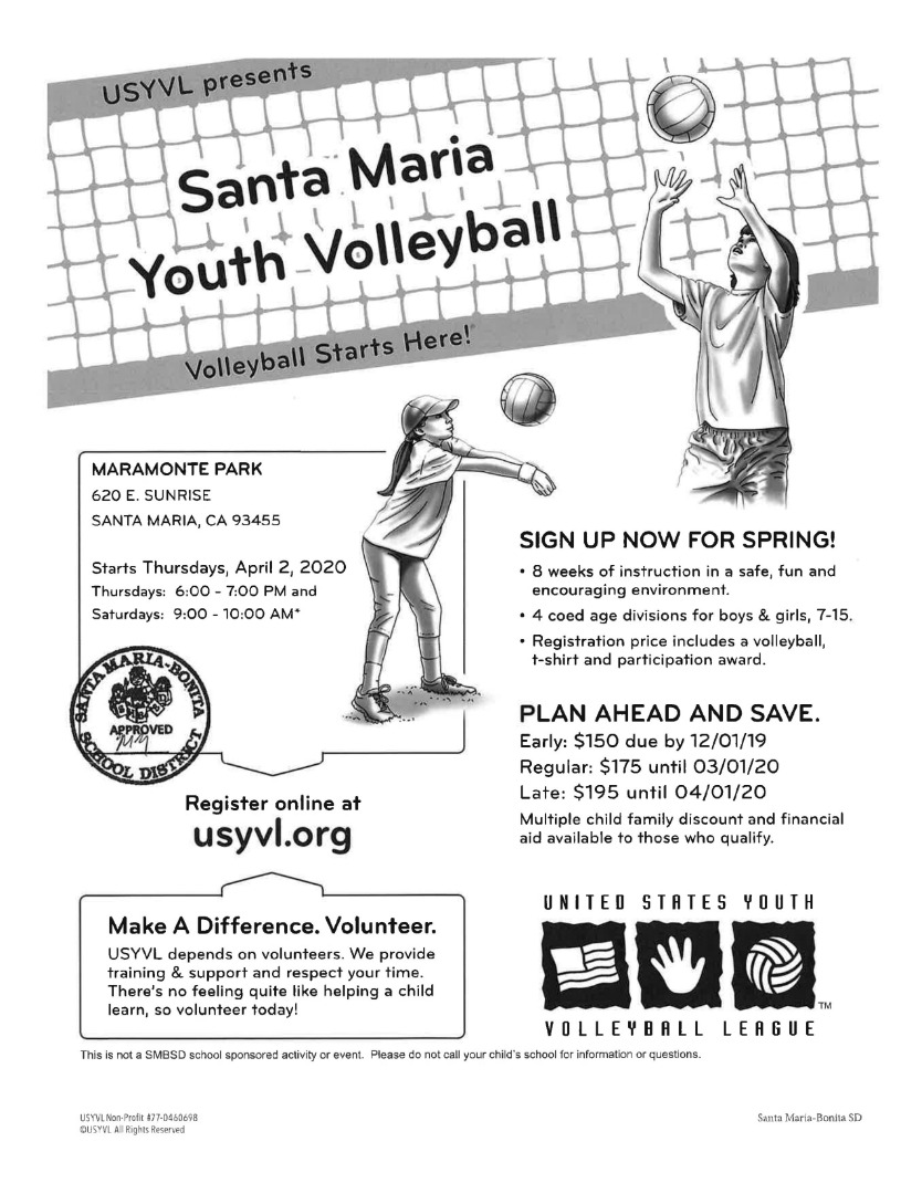 SM Youth Volleyball