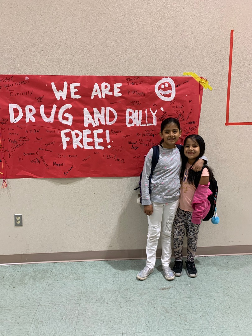 We are drug and bully free