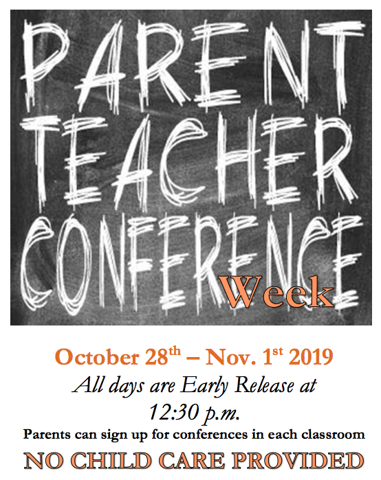 Parent Teacher Conf. Flyer
