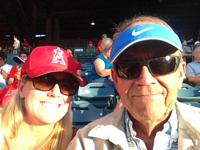 Angel's game with dad