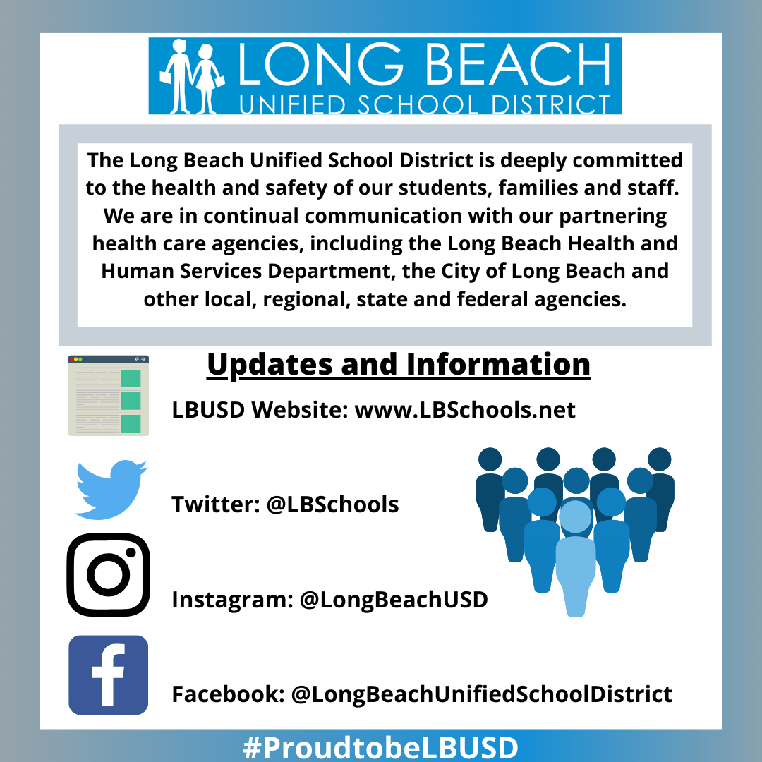 Long Beach USD Updates and Information