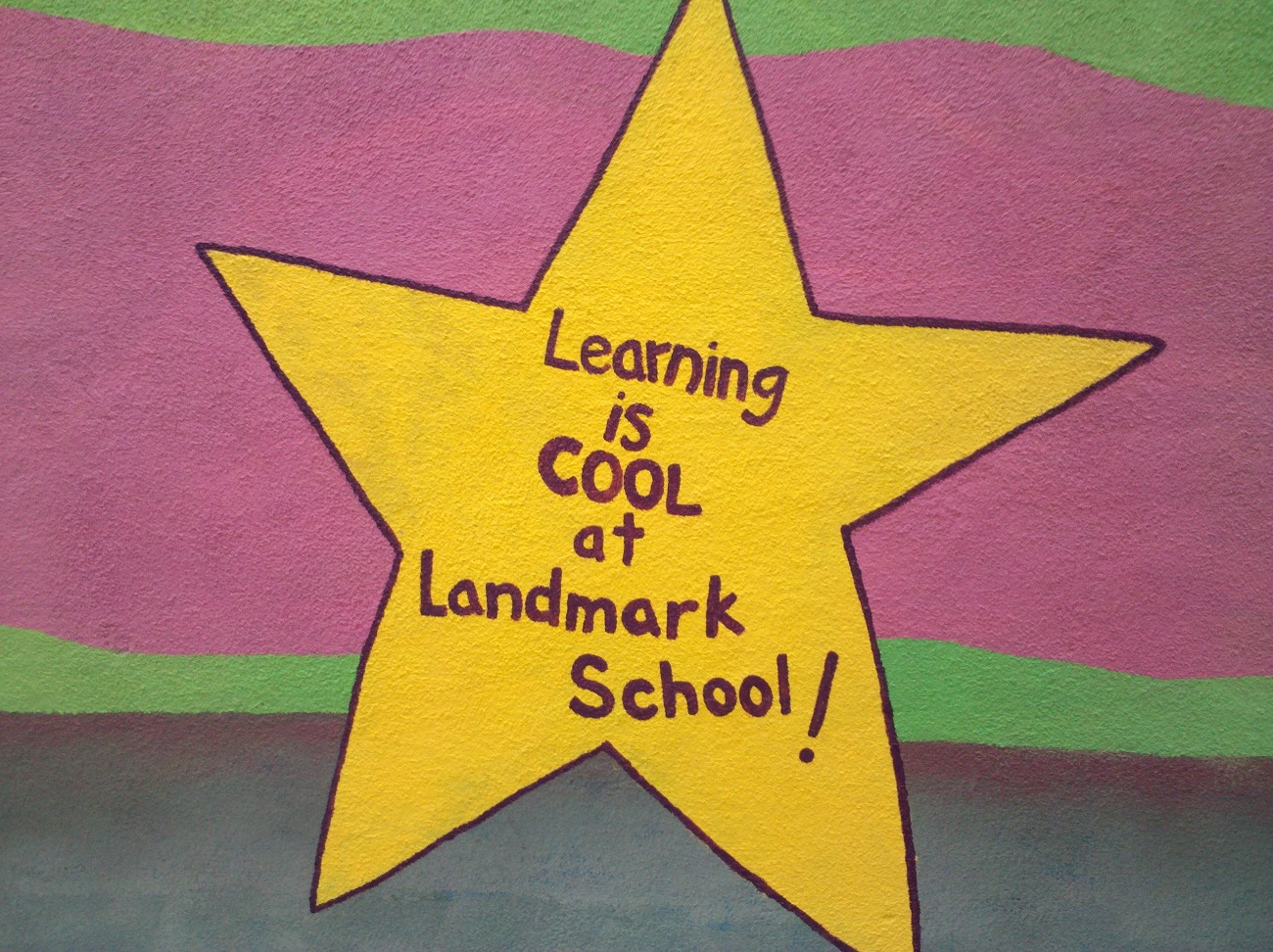 Learning is COOL at Landmark School!