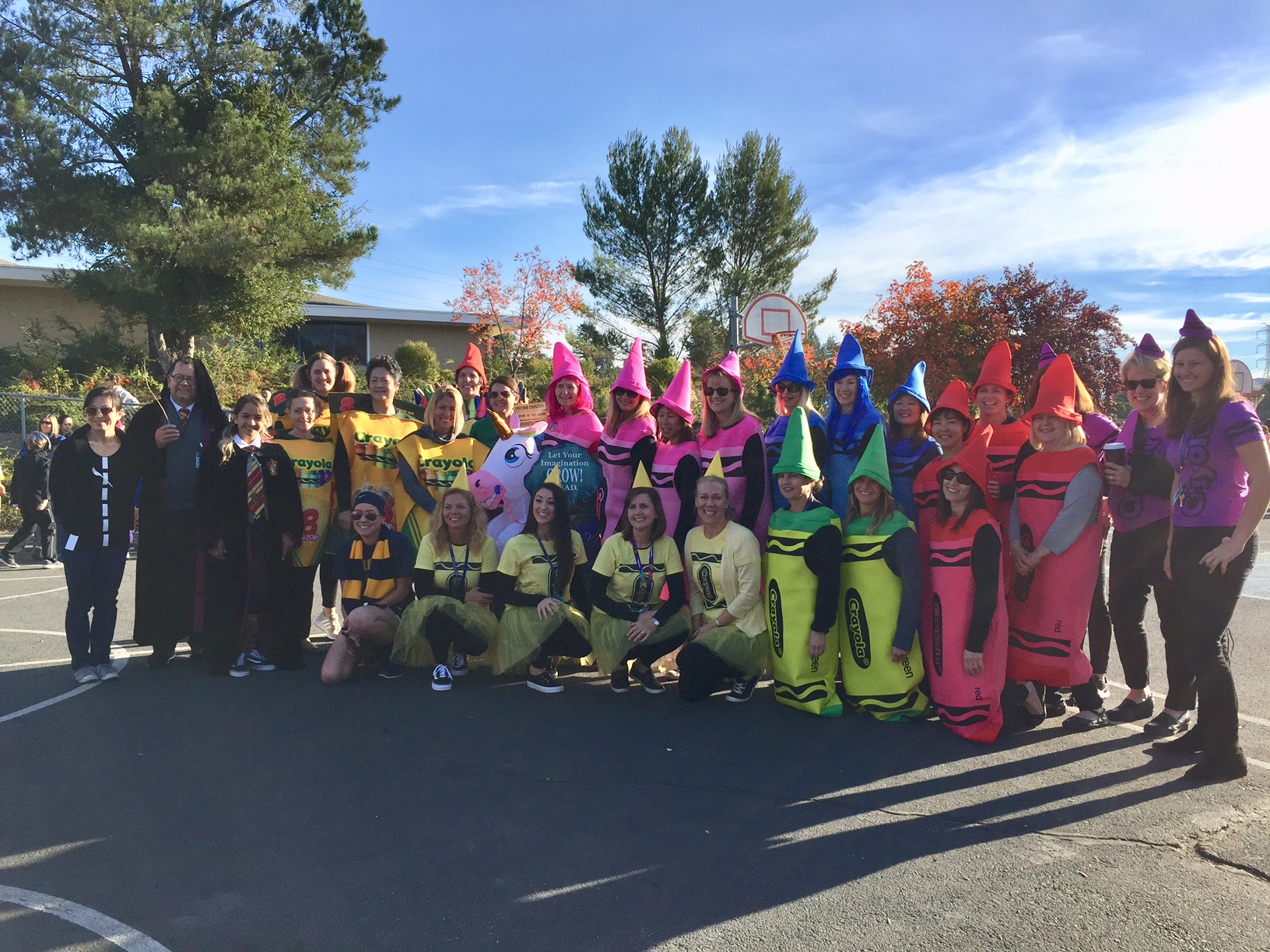 LP Staff - Colors of the Rainbow!