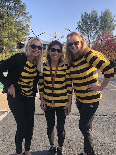 2nd grade team in costume