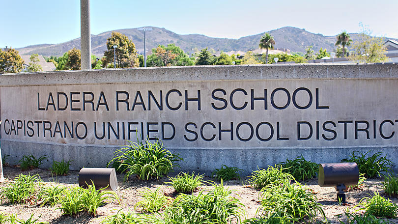 Front Entrance of School