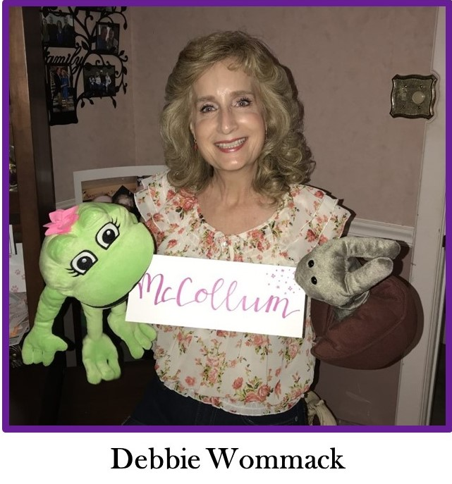 A photo of Mrs. Wommack