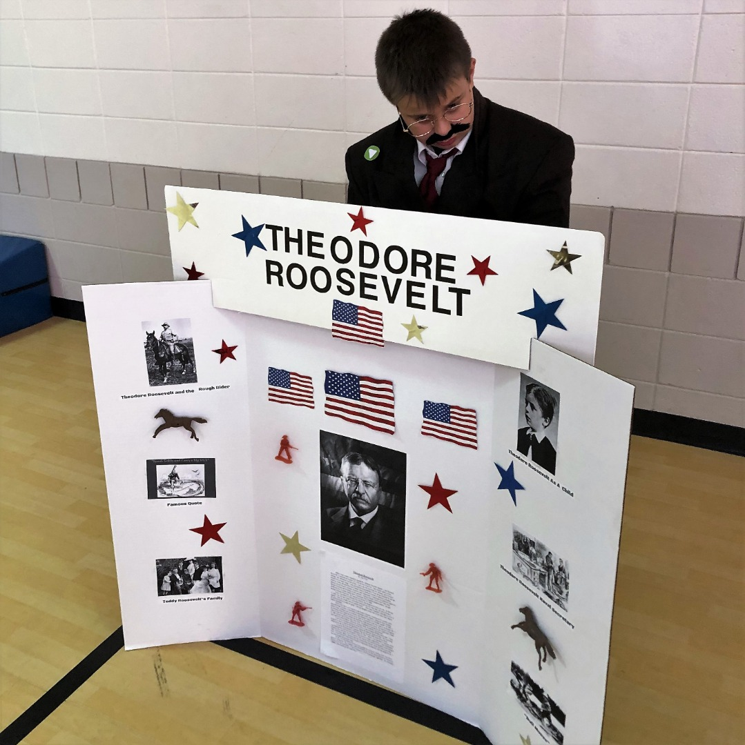student as theodore roosevelt
