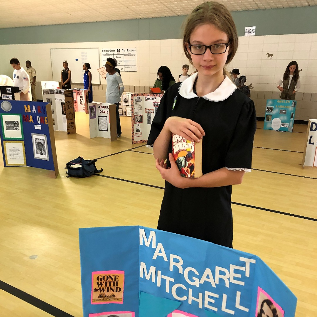 student as margaret mitchell