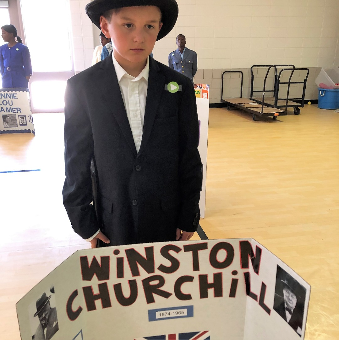 student as winstron churchill