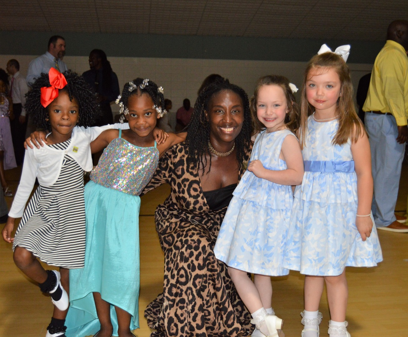 prek girls dancing