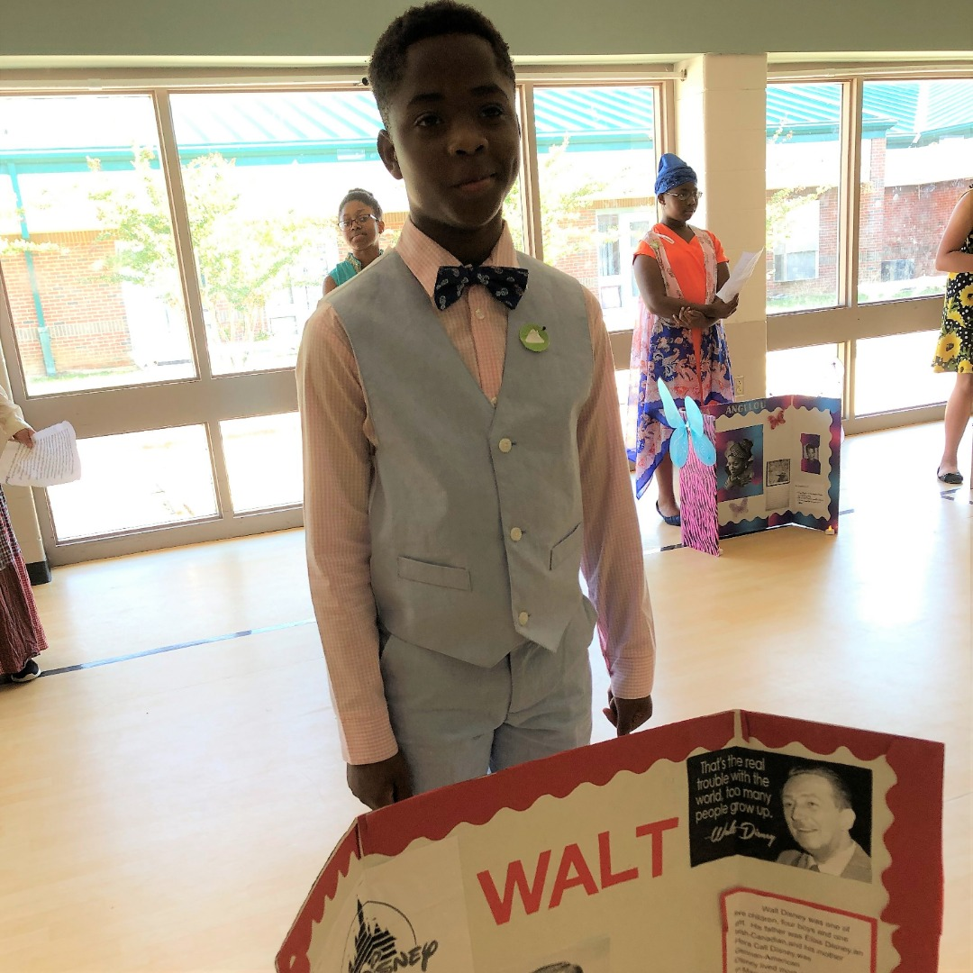 student as walt disney
