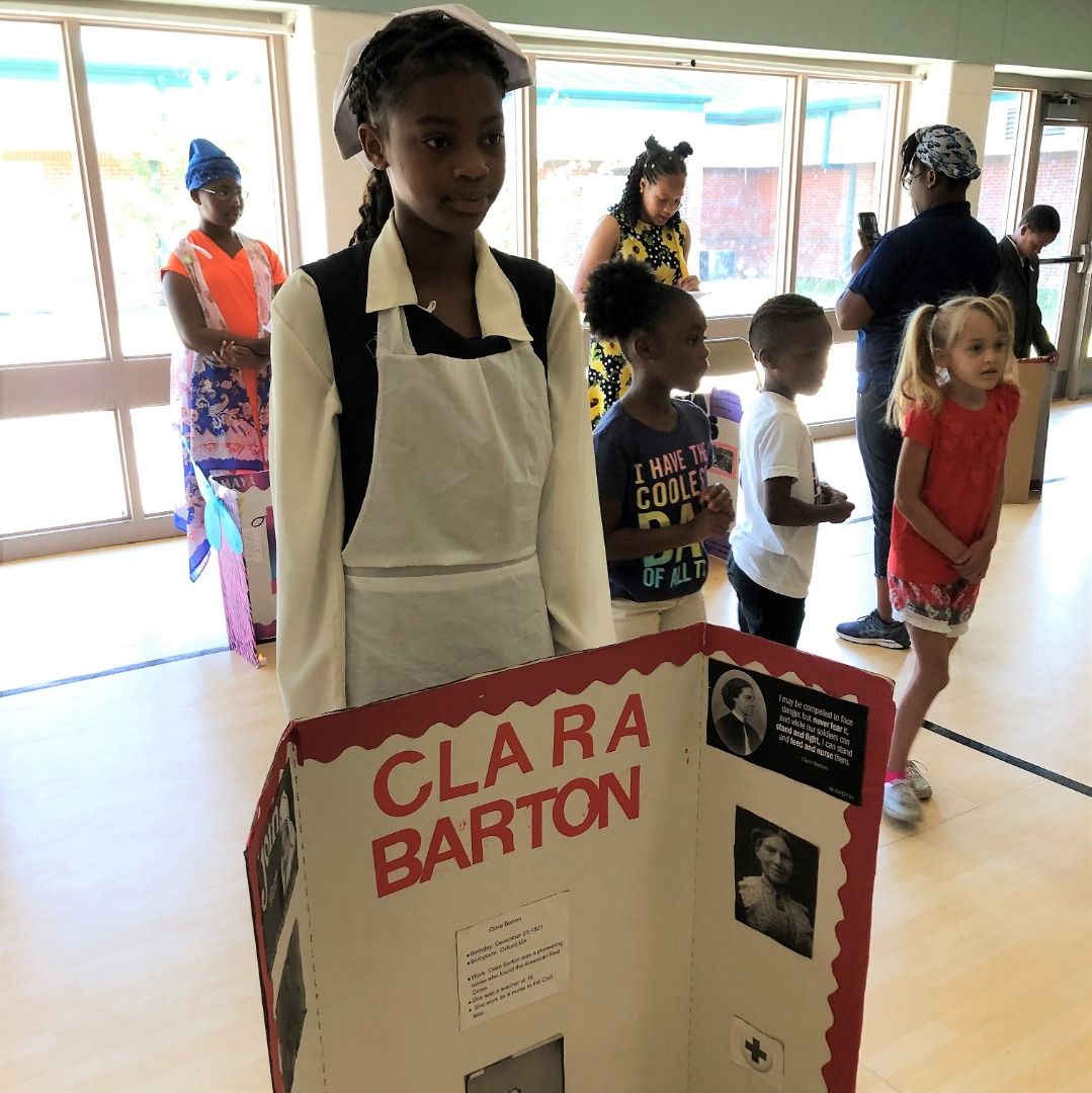 student as clara barton