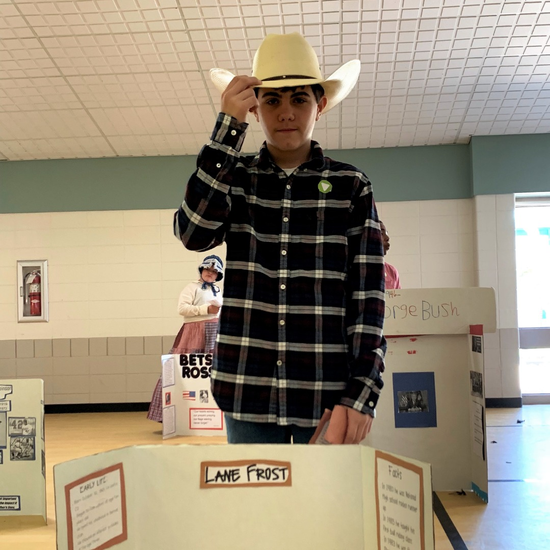 student as lane frost