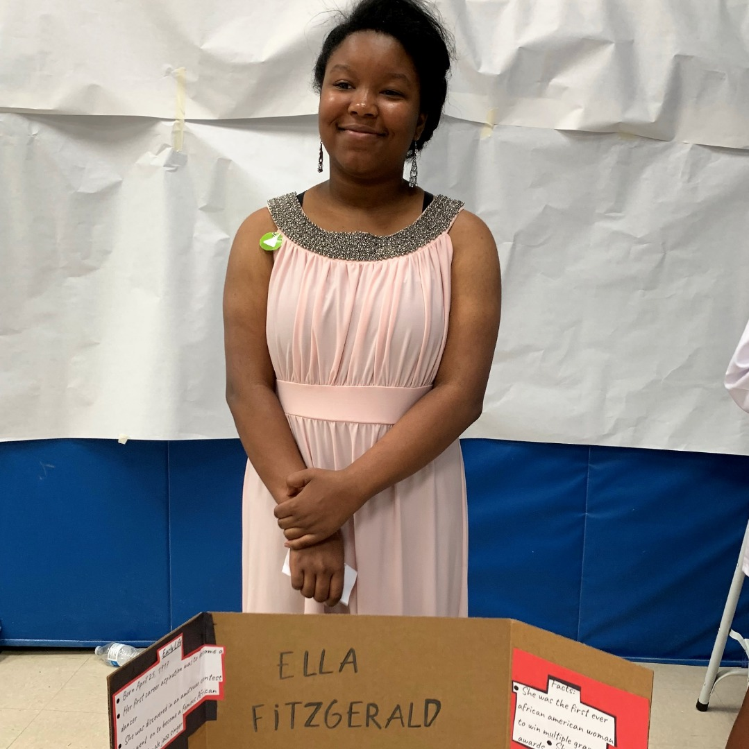 student as ella fitzgerald