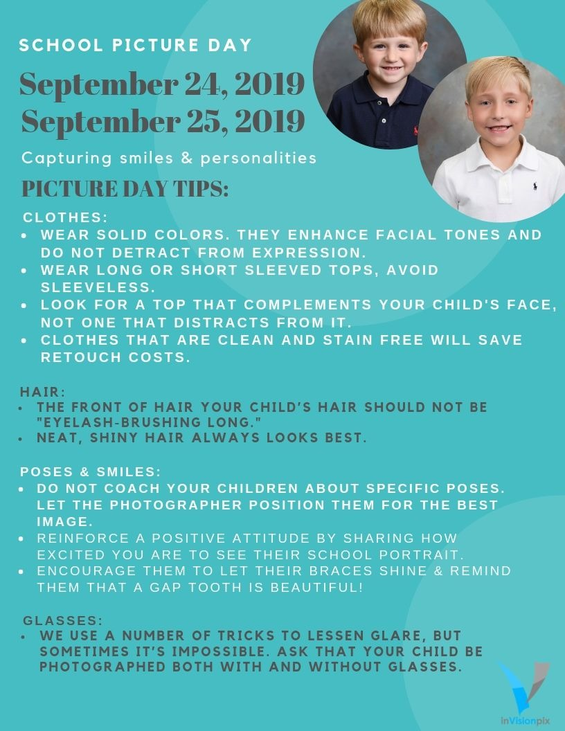 Info about school pictures