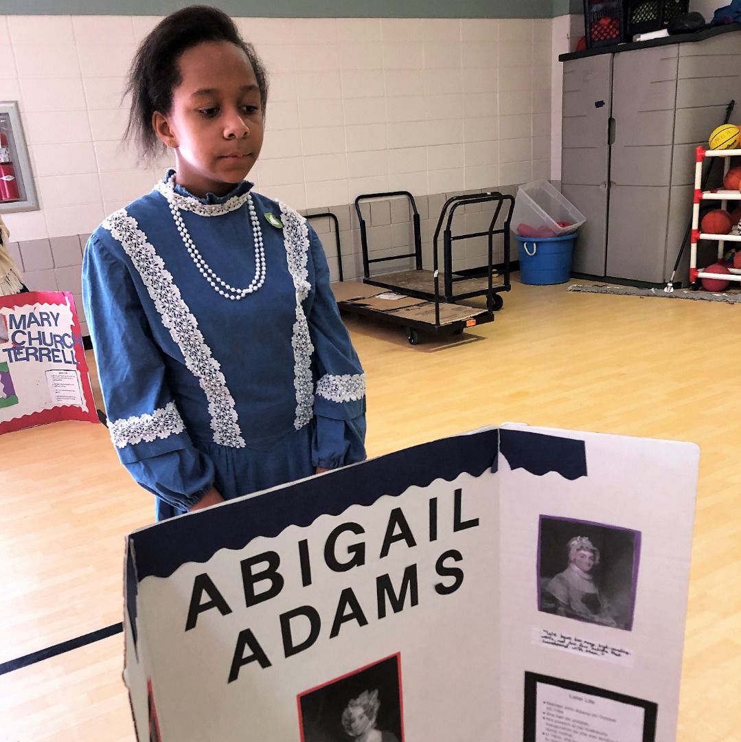 student as abigail adams