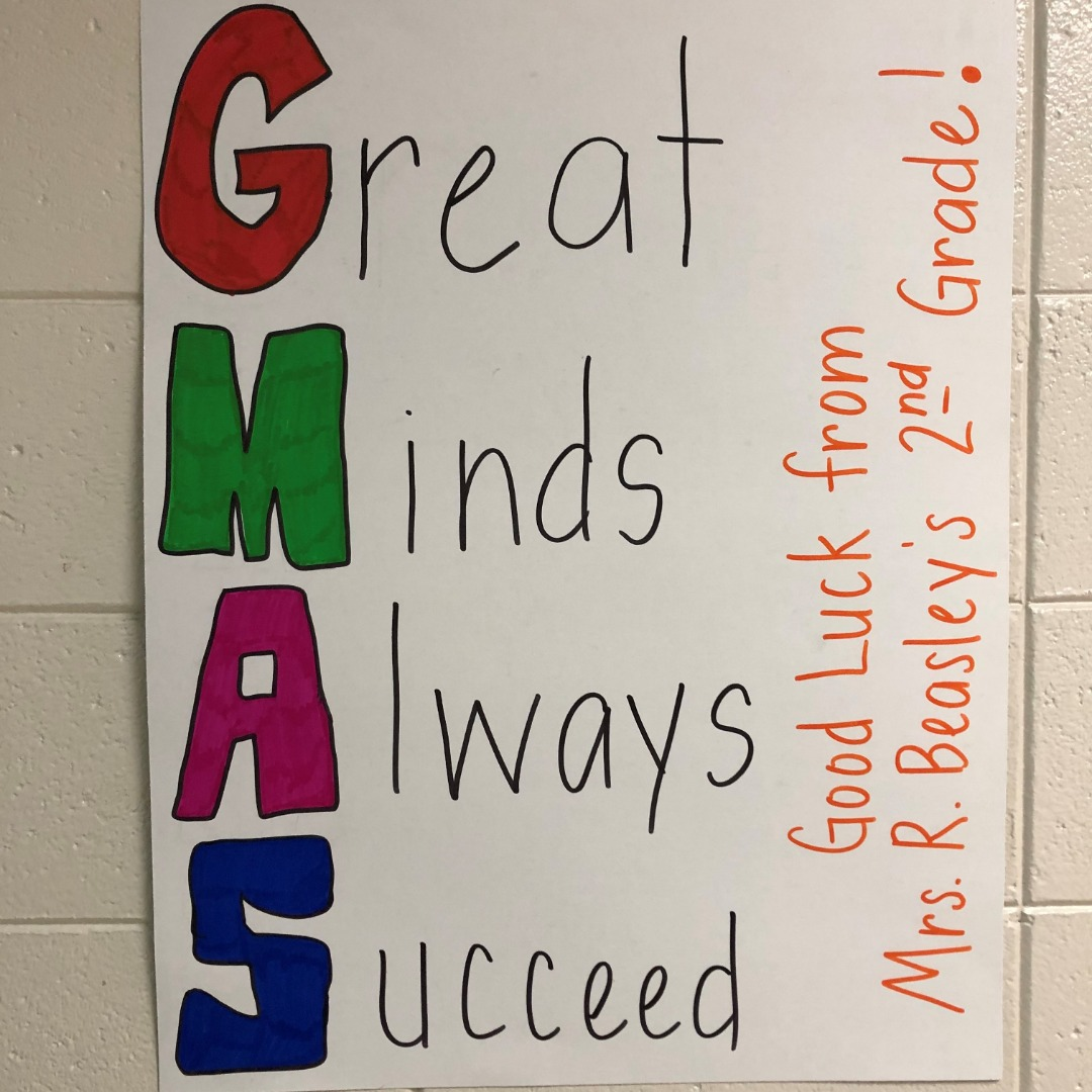 great minds always succeed poster