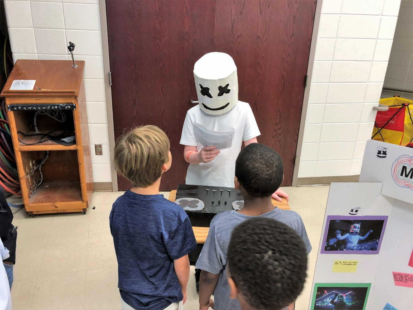 student as marshmellow