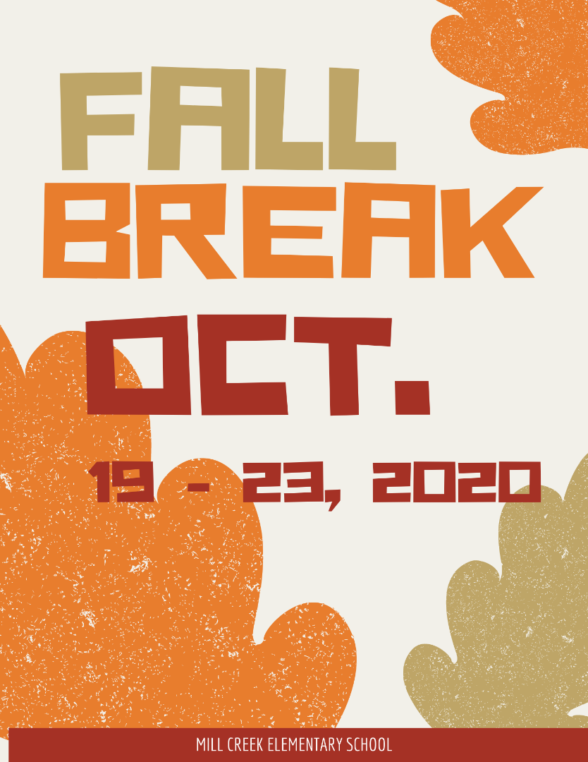 Fall Break 2020