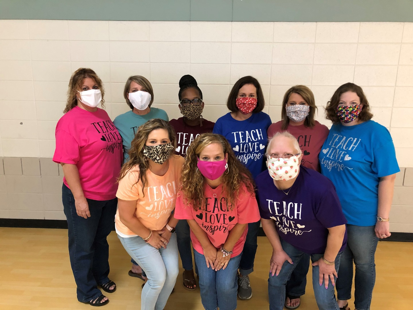 SpEd Teachers are MASKED up!