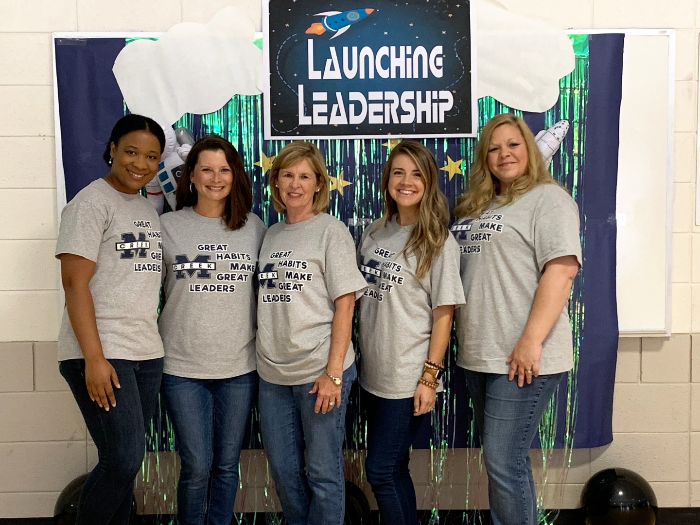 Working to launch leaders