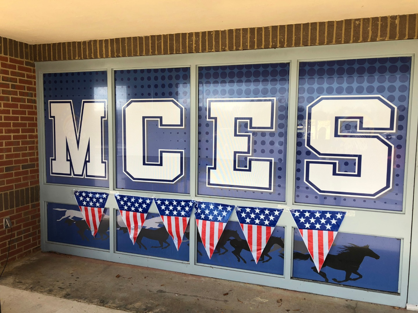 MCES letters on windows