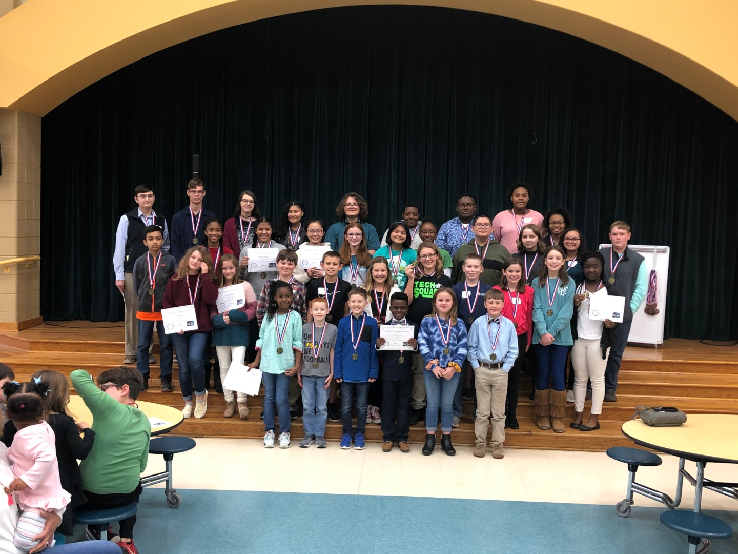 District Tech Fair Winners
