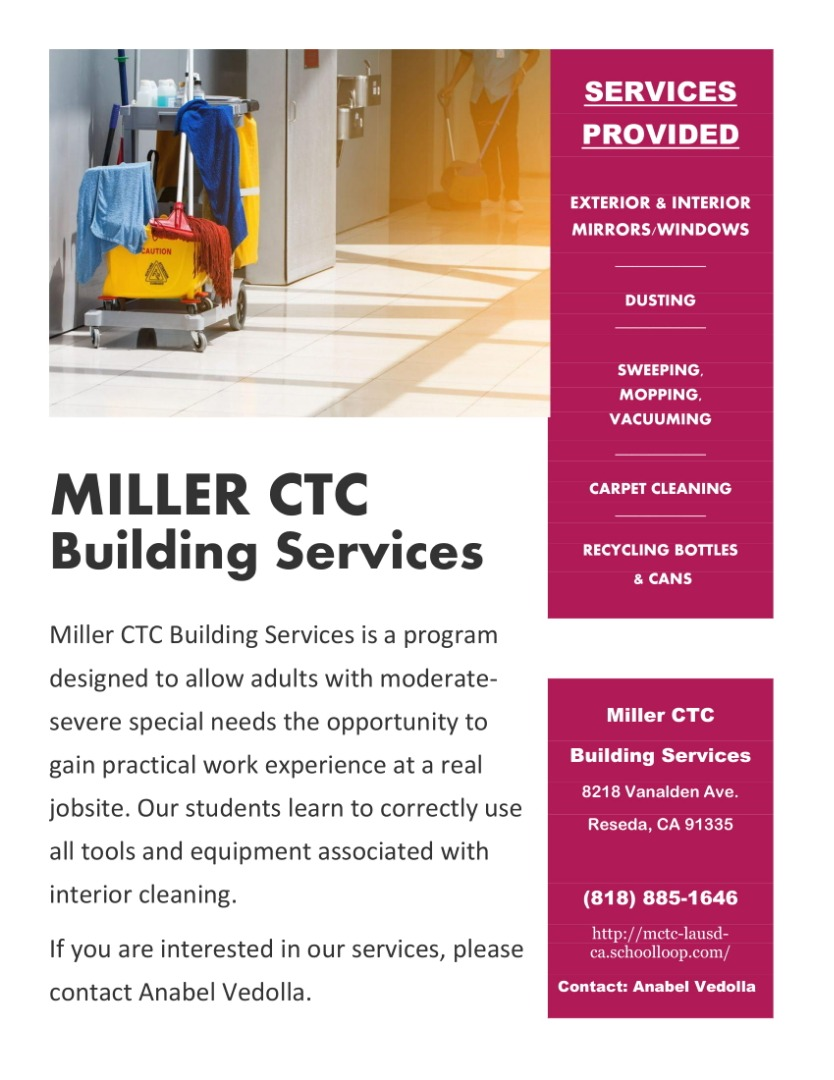 Building Services Flyer