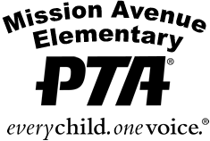 Mission Avenue Elementary PTA Logo