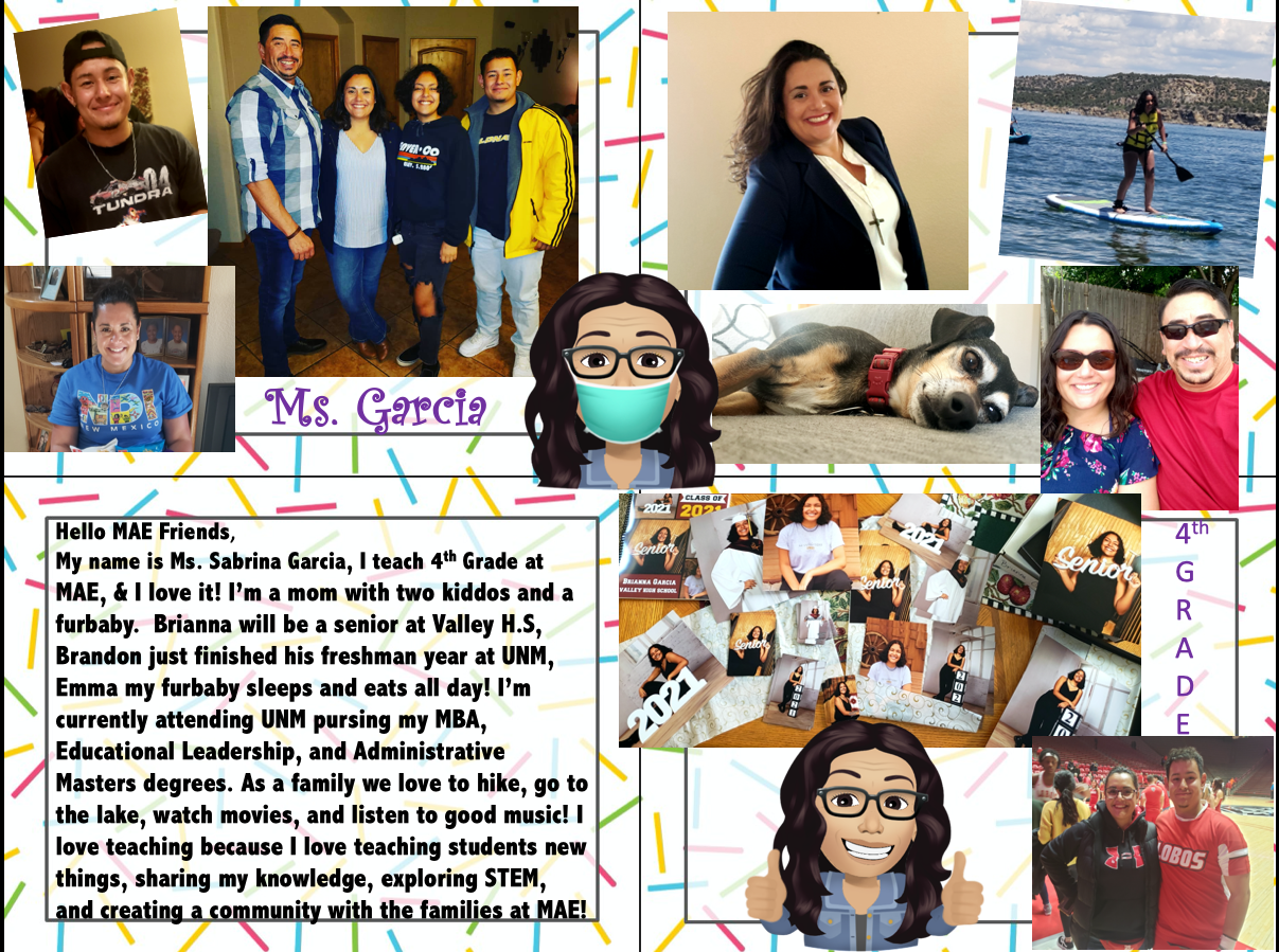 About Ms. Garcia: One Pager