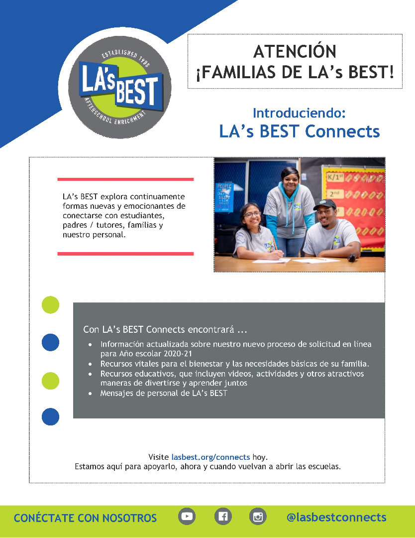 lab connects spanish flyer