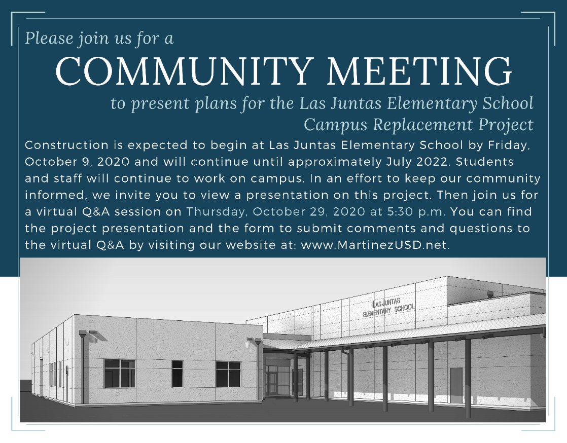 Community Meeting Information